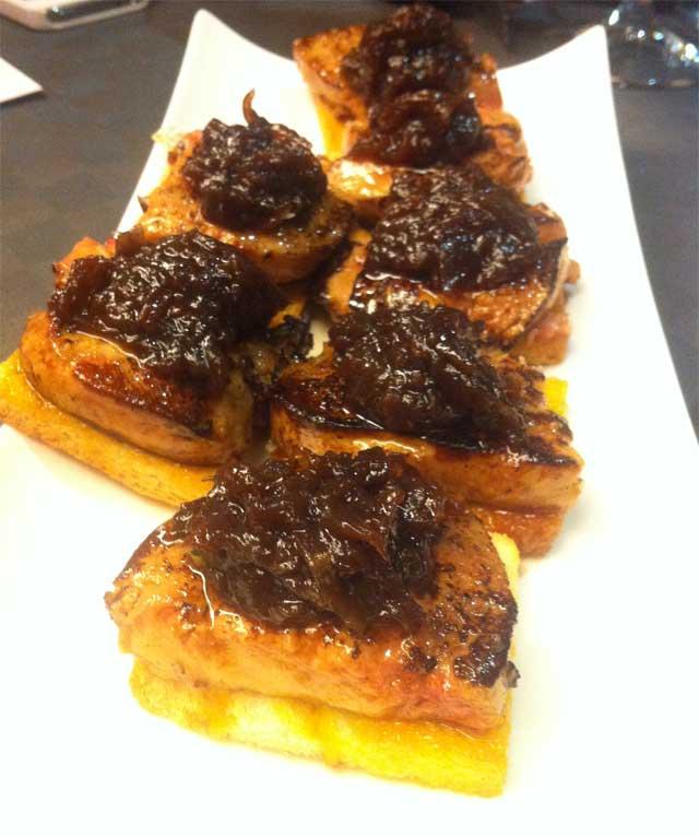 pincho-foie-plancha restaurante Telefèric