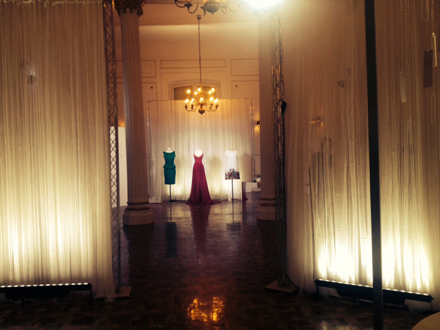 Elie Saab L'Eau Couture perfume presentación