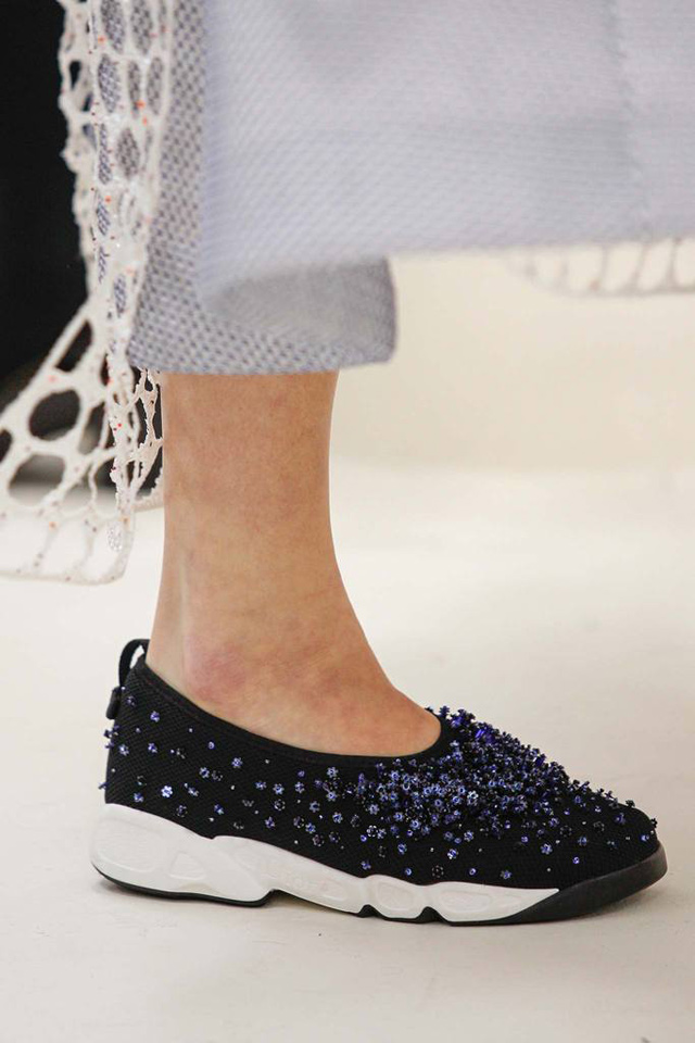 Christian Dior Haute Couture s/s 2014 sneakers