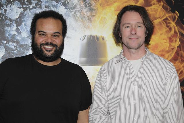 Carlos Jean y Benjamin Davies, presentaci¢n del proyecto musical de Carte Noire - febrero 2014