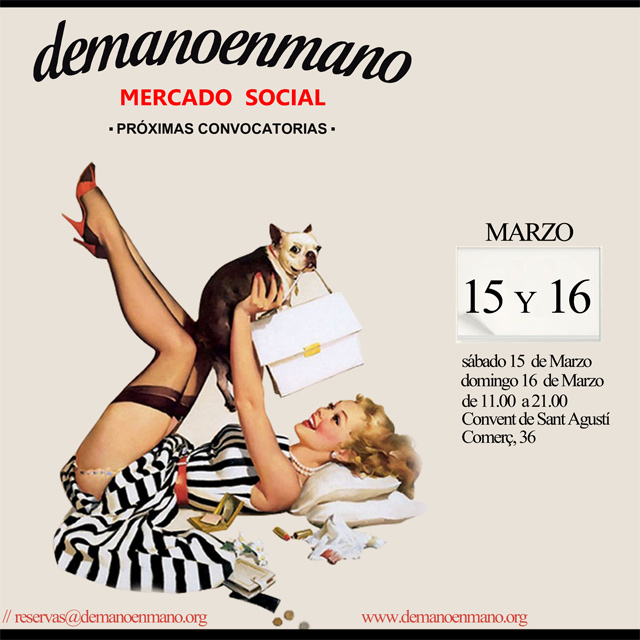 Venta de ropa de segunda mano y moda vintage en barcelona - Mercadillo segunda mano barcelona ...