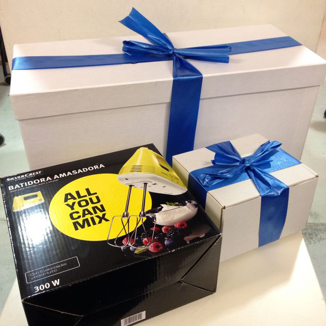 sorteo lote productos postres-belbake-cajas