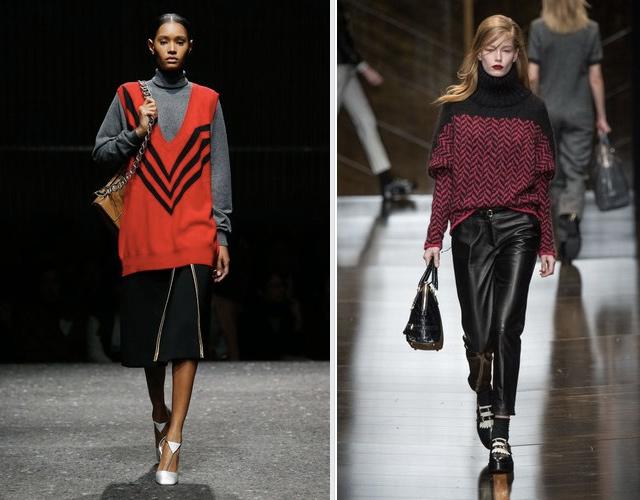 tendencias moda o/i 2014-15 prada-trussardi-jersey