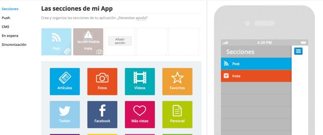 crear app blog de moda