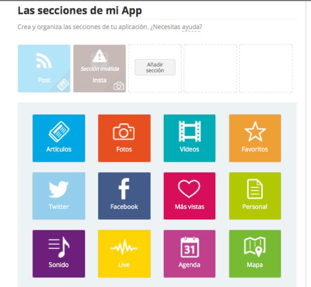 contenido app