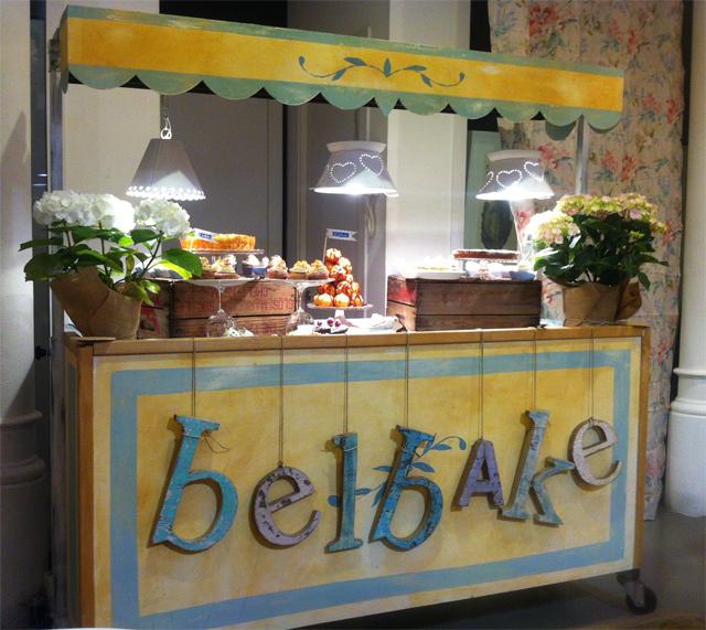 Evento Postres Belbake en Barcelona-carrito-postres