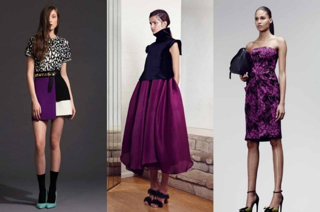 Radiant Orchid: Fausto Puglisi, Ellery and Bottega Veneta pre-fall 2014 - Vogue