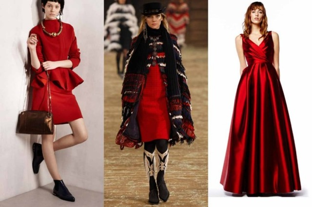 Aurora Red: Lanvin, Chanel and Reem Acra pre-fall 2014 - Vogue