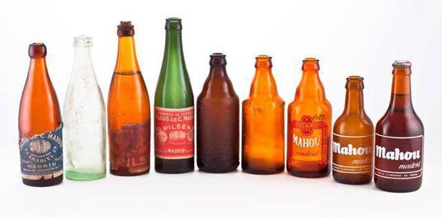botellas-antiguas-cerveza-mahou
