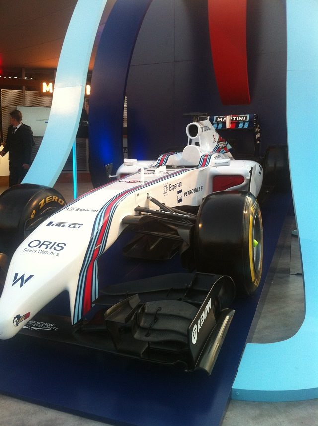 f1 terraza Williams Martini Racing