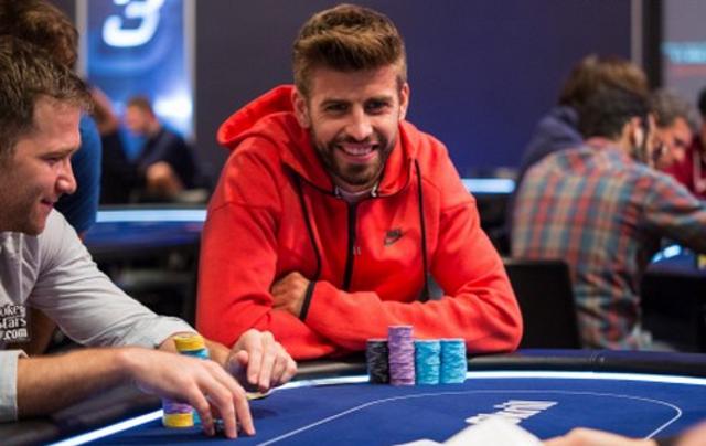 Gerard Piqué poker barcelona