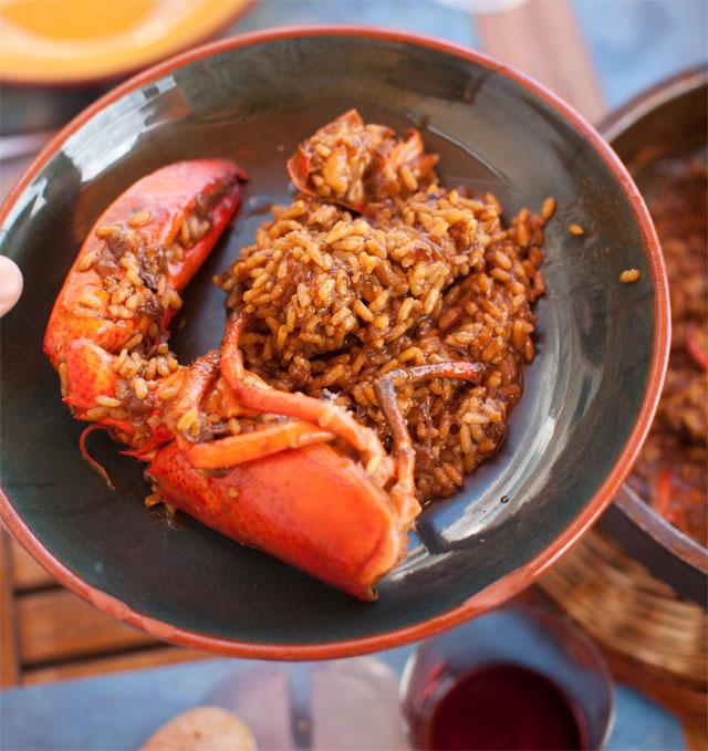 arroz-bogavante-restaurante-tragamar