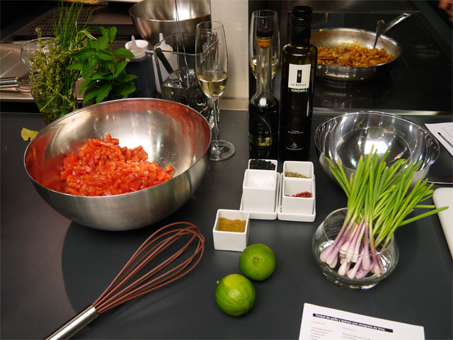 experiencia gaggenau-preparacion-vinagreta