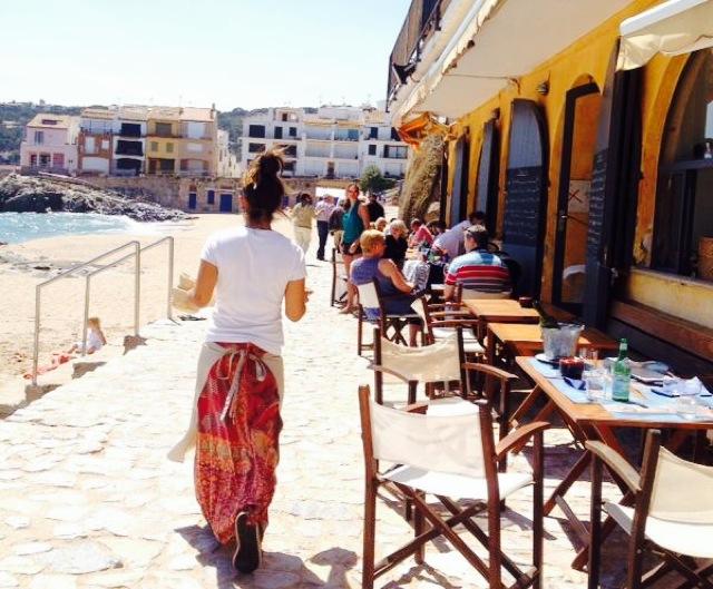 tragamar costa brava terraza restaurante