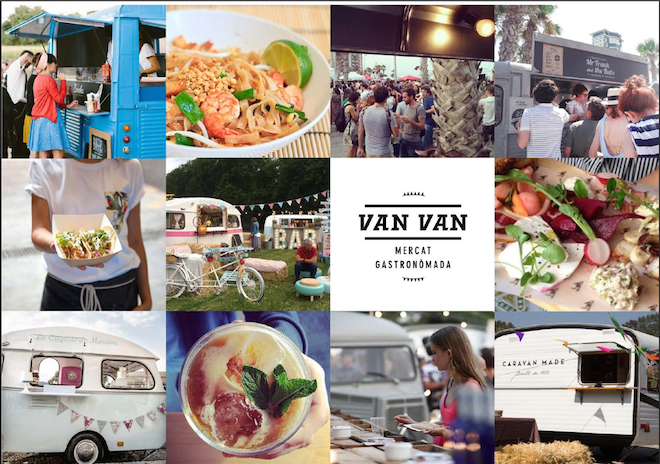 Van Van Food Trucks en Barcelona