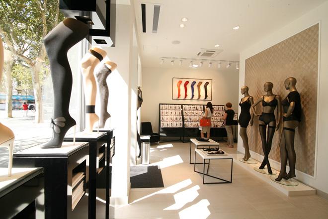 Wolford en Barcelona tienda