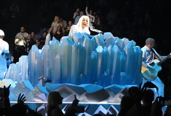 Lady Gaga Performs Her artRave: The ARTPOP Ball Show