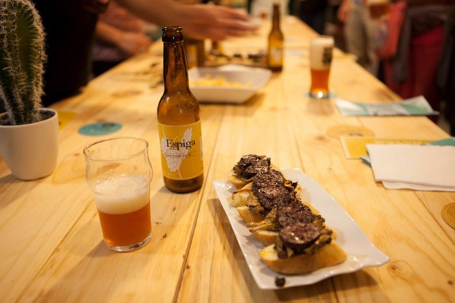espiga cerveza made in barcelona