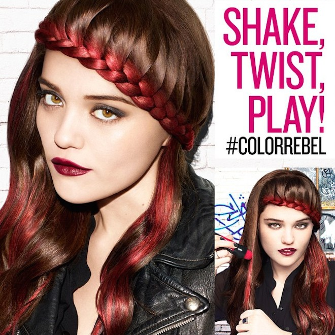 redken color rebel Sky Ferreira