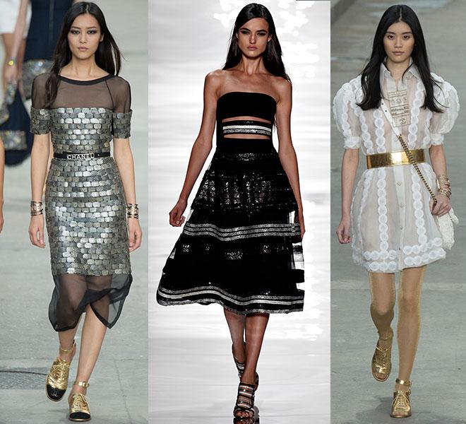 Las transparencias de Chanel, Reem Acra y Chanel pv 2015