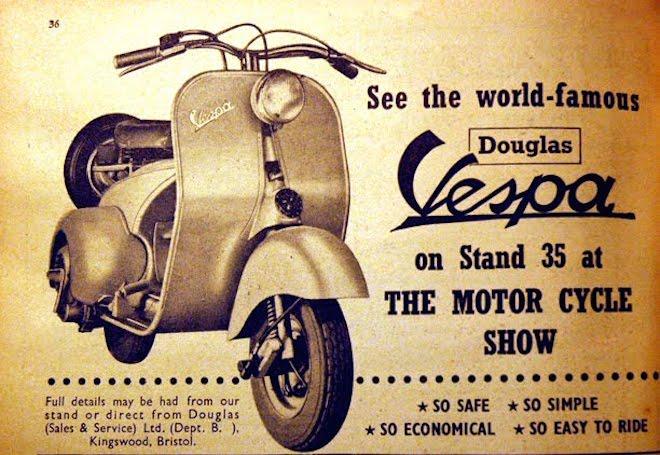 vespa-scooter icono de estilo