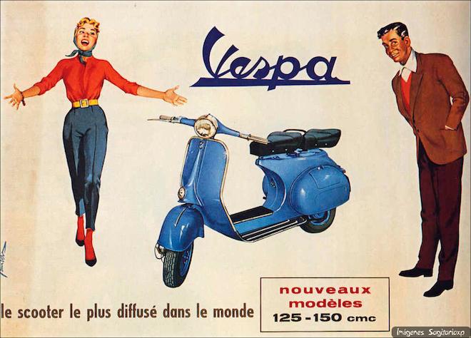 vespa-vintage scooter