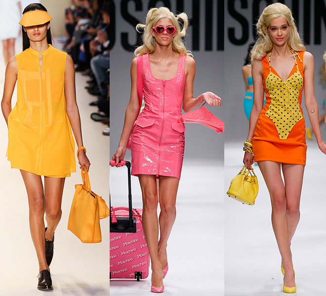 El color vitamínico de 2akris y Moschino