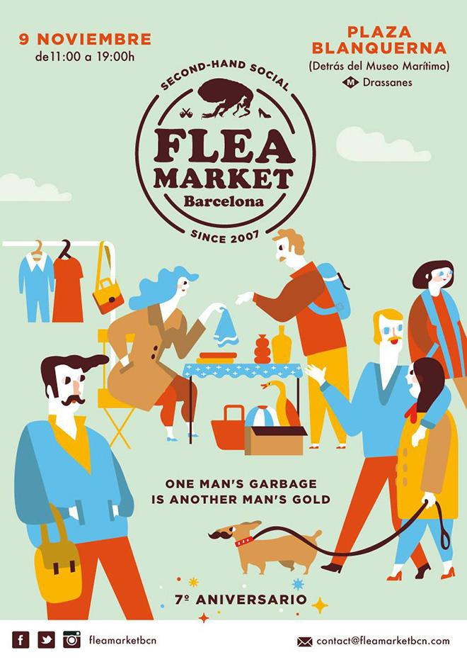 flea-market-barcelona noviembre 2014