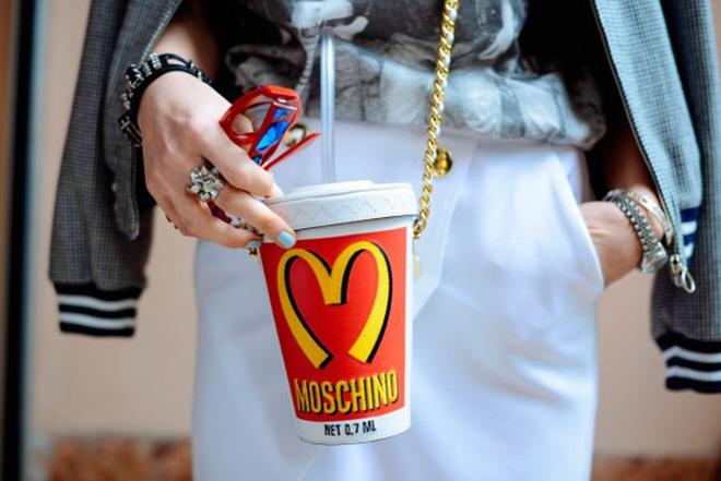 MOSCHINO bolso mcdonalds