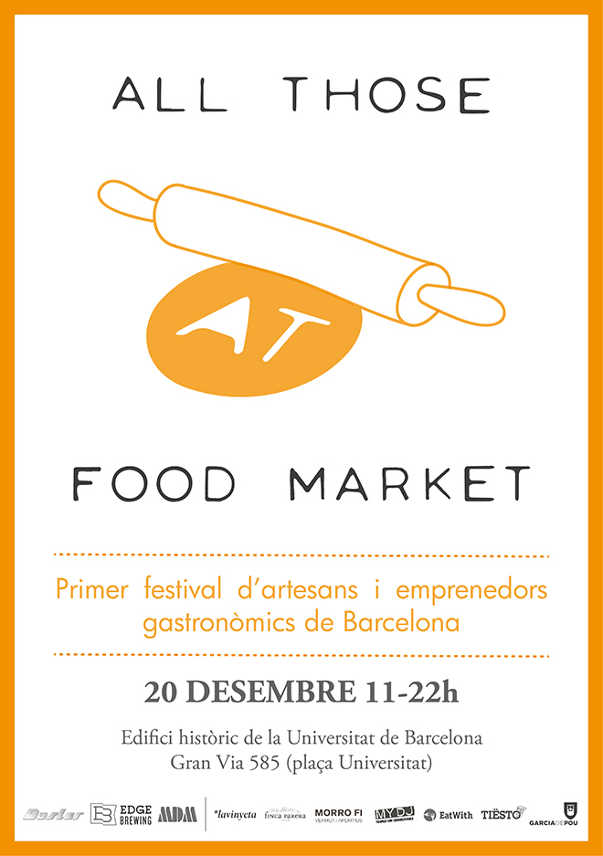 All Those Food Market mercado navidad barcelona