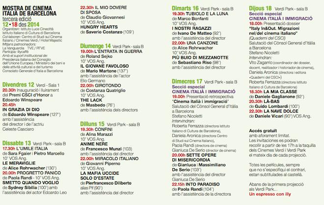programa mostra cinema italiano 12014