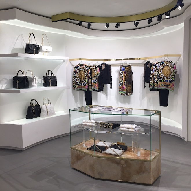 versace boutique paseo de gracia