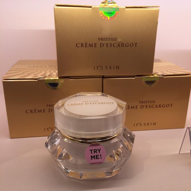 korean cosmetics crema de baba