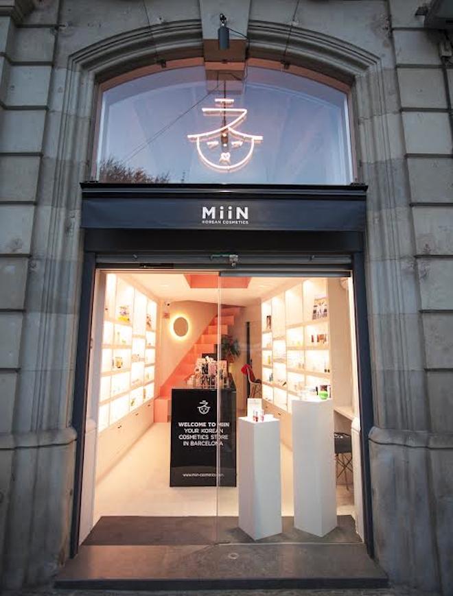 miin cosmetics tienda barcelona