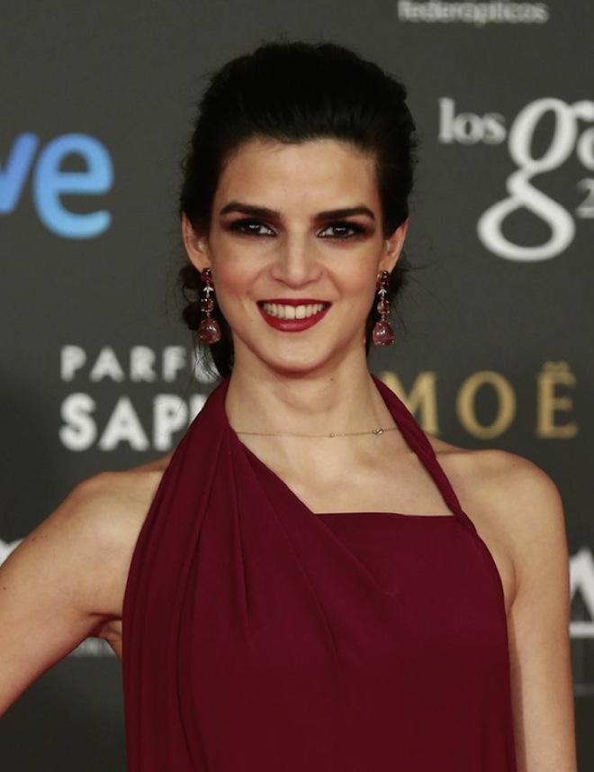 Clara Lago maquillaje goya 2015