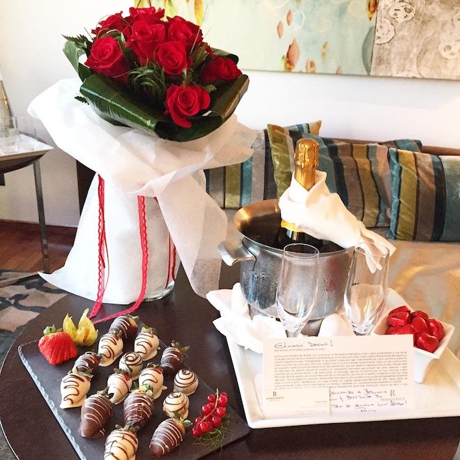 Renaissance hotel barcelona san valentin