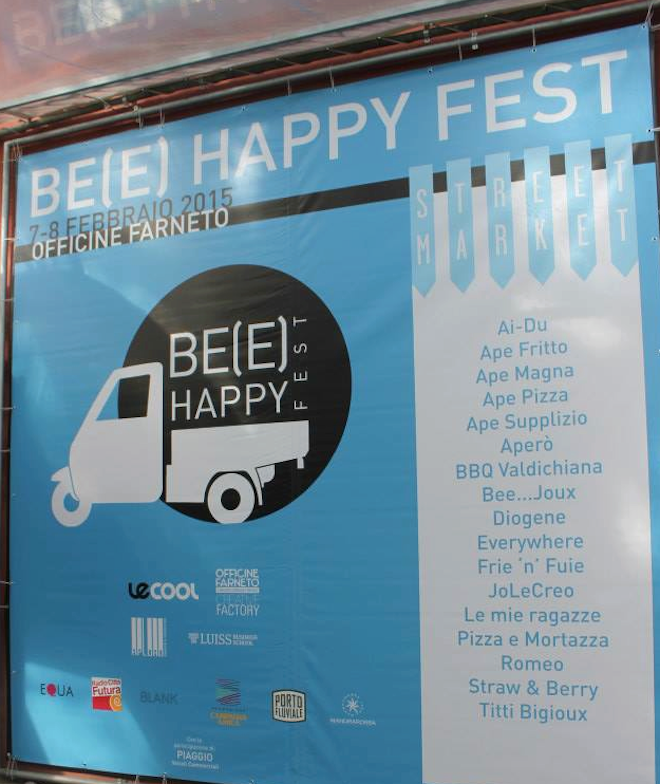 be happy fest flyer