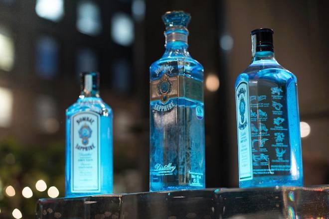 bombay sapphire sublime botella
