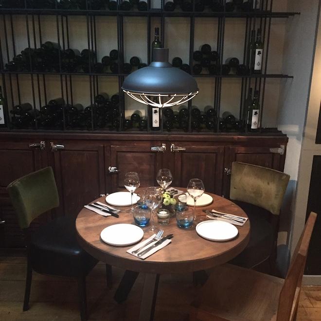 gastrobar basilico mesa restaurante