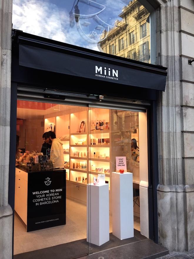 miins cosmetics ruta tiendas renaissance