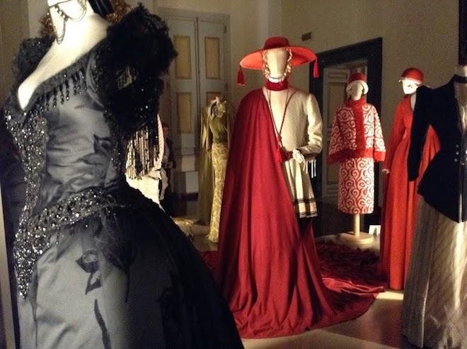 mostra costumi moda italiana