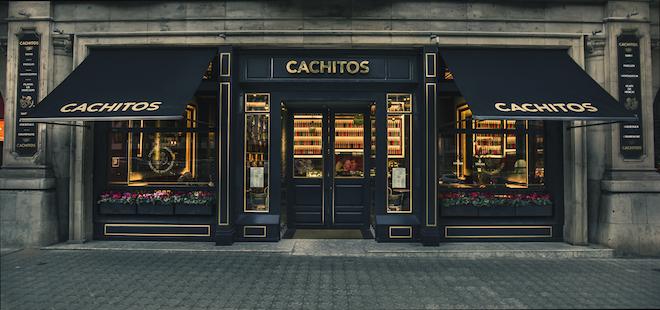 Cachitos Diagonal_entrada restaurante