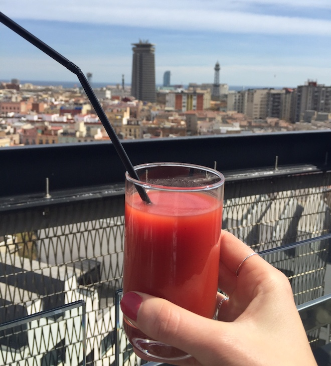 brunch barcelo raval bloody mary
