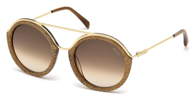emilio pucci gafas sol redonda