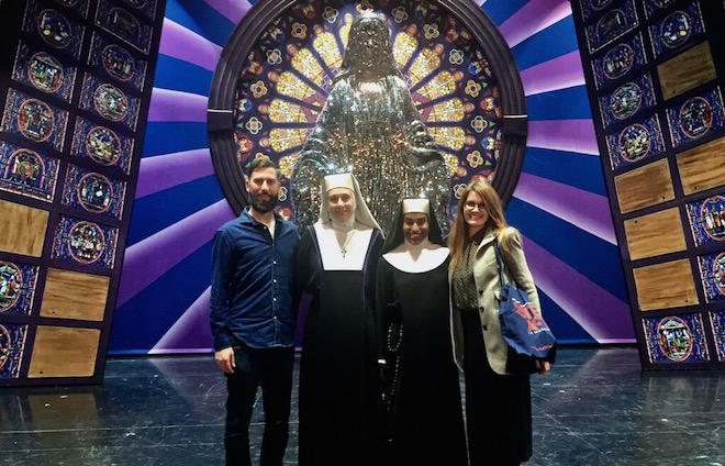 sister act musical actores protagonistas