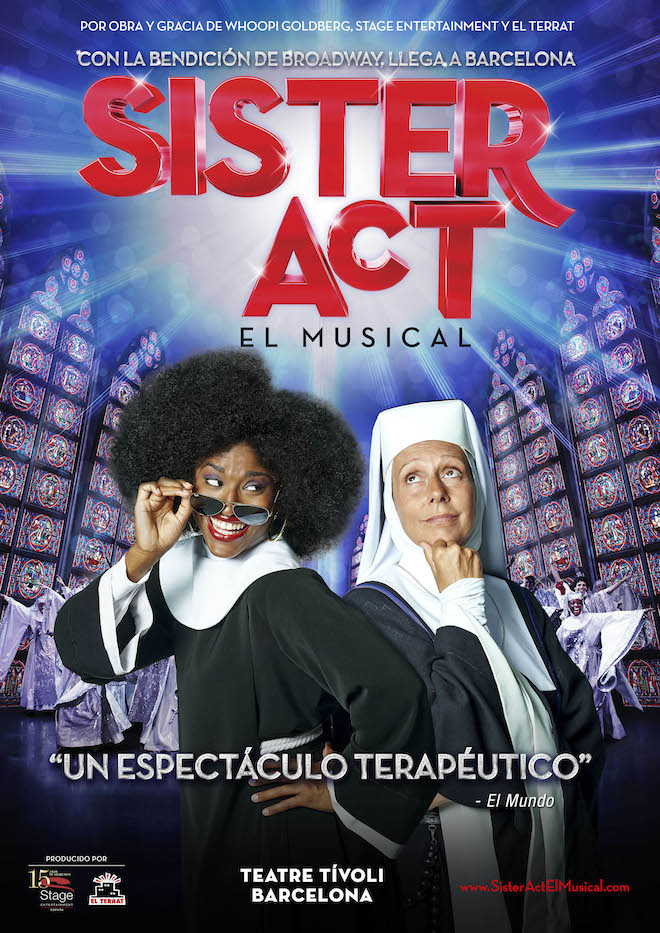 sister act musical cartel_barcelona