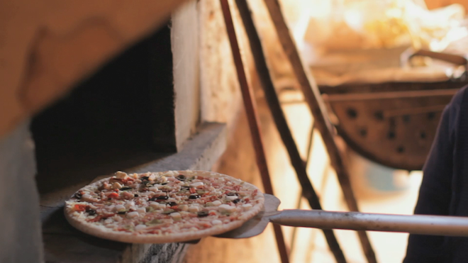 casa tarradella pizza horno lena