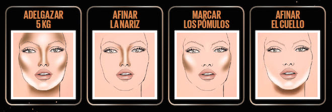 contouring maybelline maquillahe