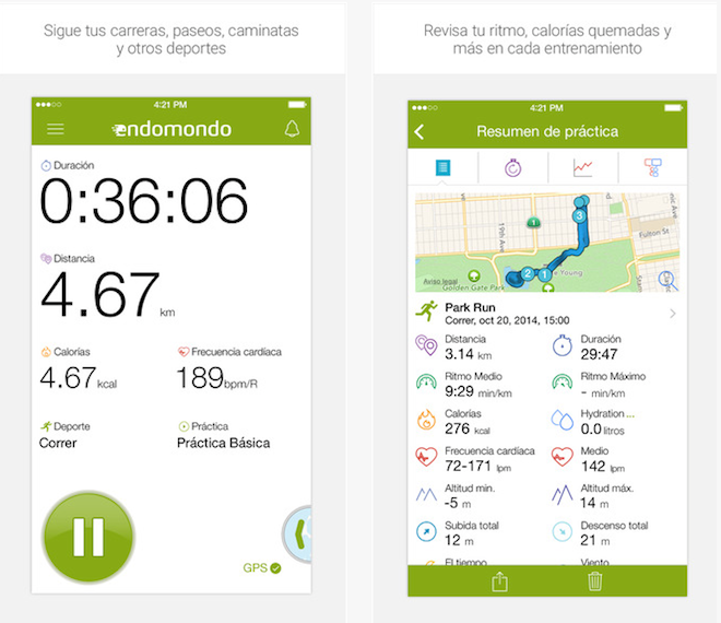 endomondo app runners