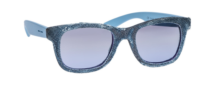 gafas italia independent LUX efecto denim
